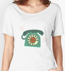 Retro Telephone Women's Relaxed Fit T-Shirt