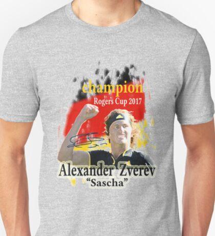 Sascha Zverev champion T-Shirt