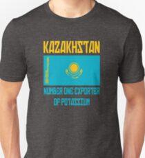 Kazakhstan - Number One Exporter Of Potassium - Borat Slim Fit T-Shirt