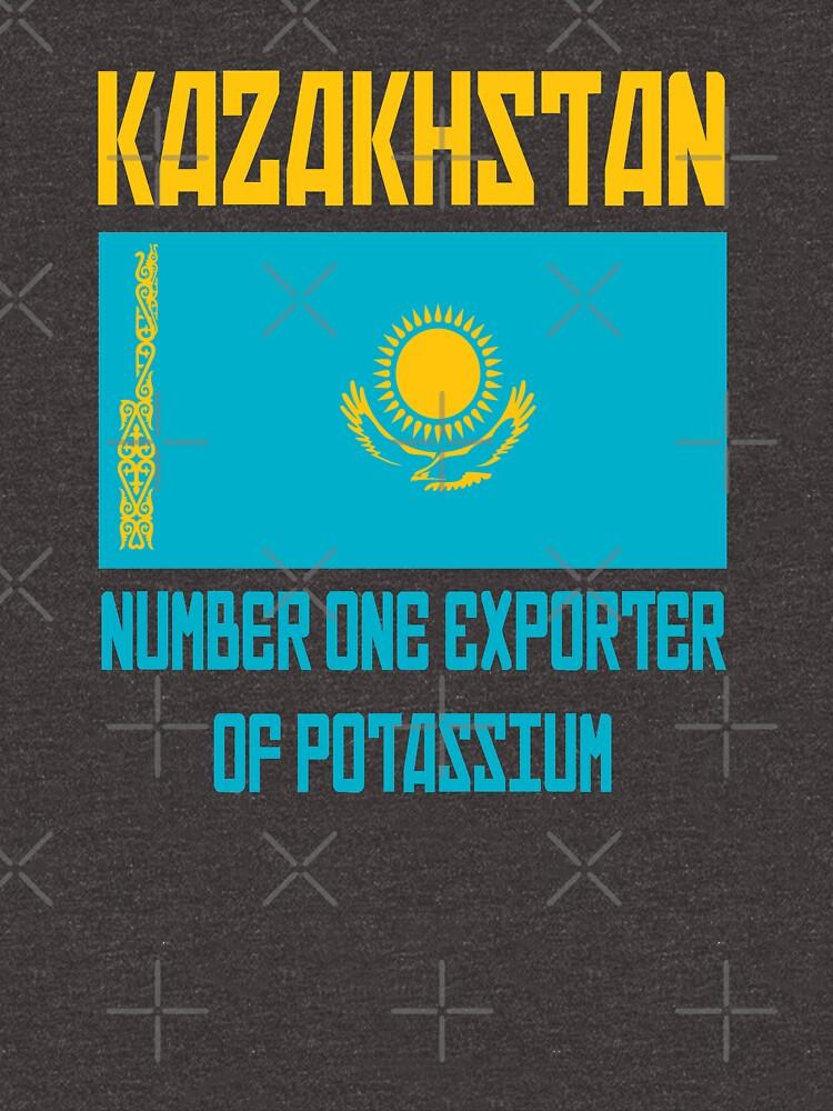 Kazakhstan - Number One Exporter Of Potassium - Borat by everything-shop