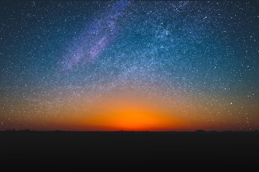 stars at sundown by hellichipmunk