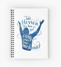 Takk Herren for han er god Spiral Notebook