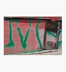 Green Tag Photographic Print