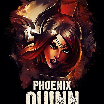 League of Legends PHOENIX QUINN by Naumovski