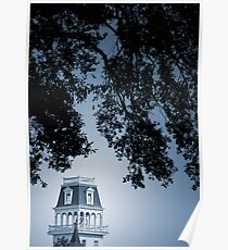 Tower under Towering Trees Poster