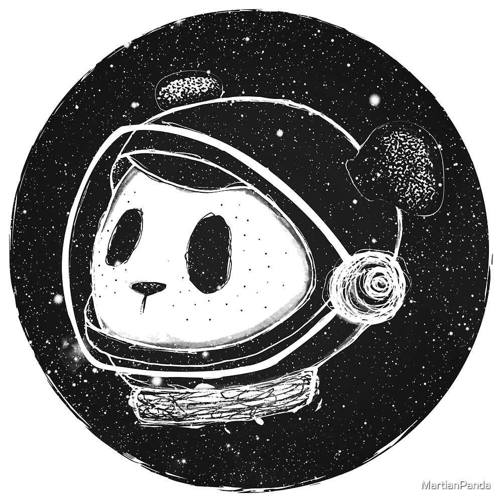 The Martian Panda by MartianPanda