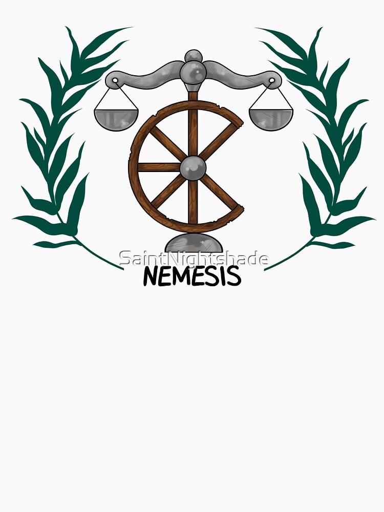 Nemesis Inspired Cabin Symbol Unisex T Shirt By Saintnightshade