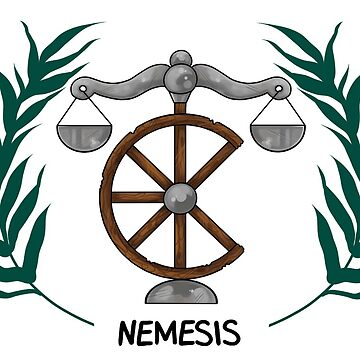 Nemesis Inspired Cabin Symbol Graphic T Shirt By Saintnightshade