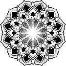 """""""August"""" Sacred Geometry Mandala by Zak Korvin"""