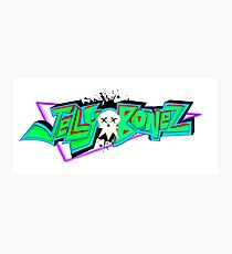 Jellybonez Logo Photographic Print