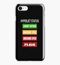 Spaceballs - Hyperjet Status iPhone Case/Skin