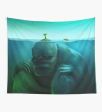 Lonely Island Wall Tapestry