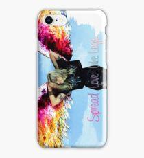 """Mia Swier - Spread Love Like Legs """"Wigs"""" iPhone Case/Skin"""