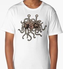 FSM - Flying Spaghetti Monster Long T-Shirt