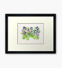 The color of Point Fermin    Framed Print