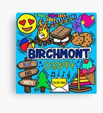 Birchmont Canvas Print