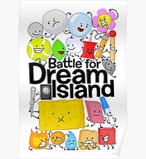 BFDI Poster White Poster