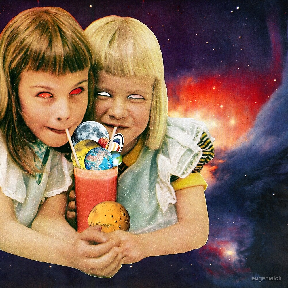 Exoplanet Cocktail by eugenialoli