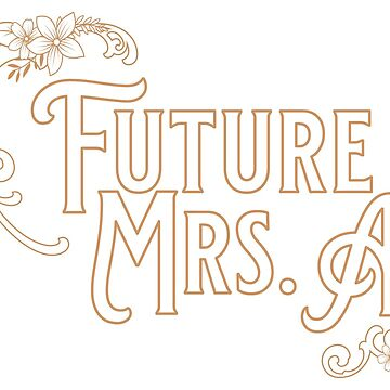 The Future Mrs A Vintage Wedding and Bridal Design by artbachelor
