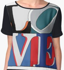 Philly Love Sports Women's Chiffon Top
