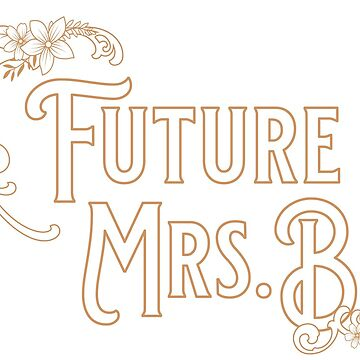 The Future Mrs B Vintage Wedding and Bridal Design by artbachelor