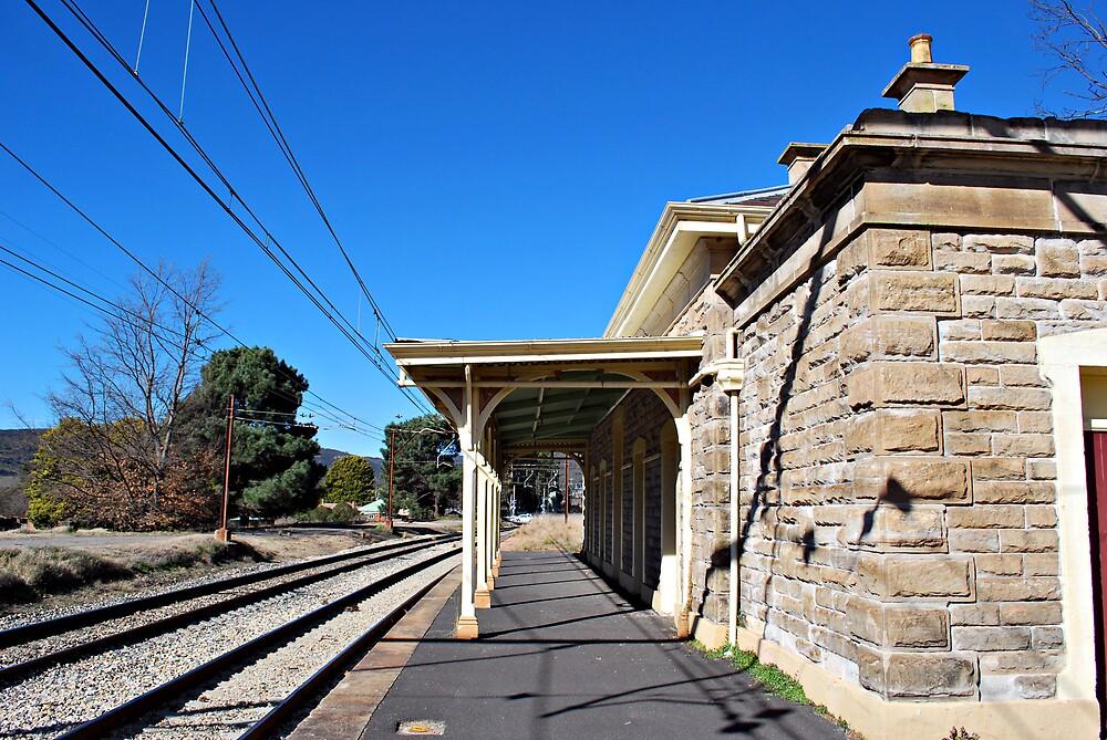 Bowenfels Railway Station by Peta Jade
