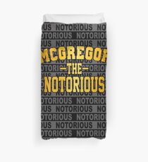 conor mcgregor robe Duvet Cover