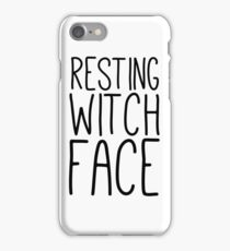 Resting Witch Face iPhone Case/Skin