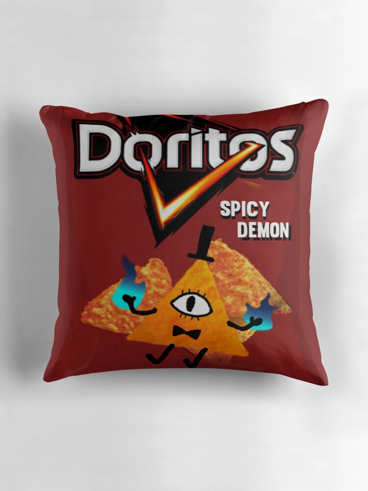 Quot Bill Cipher Demon Doritos Quot Throw Pillows By Robindbanks