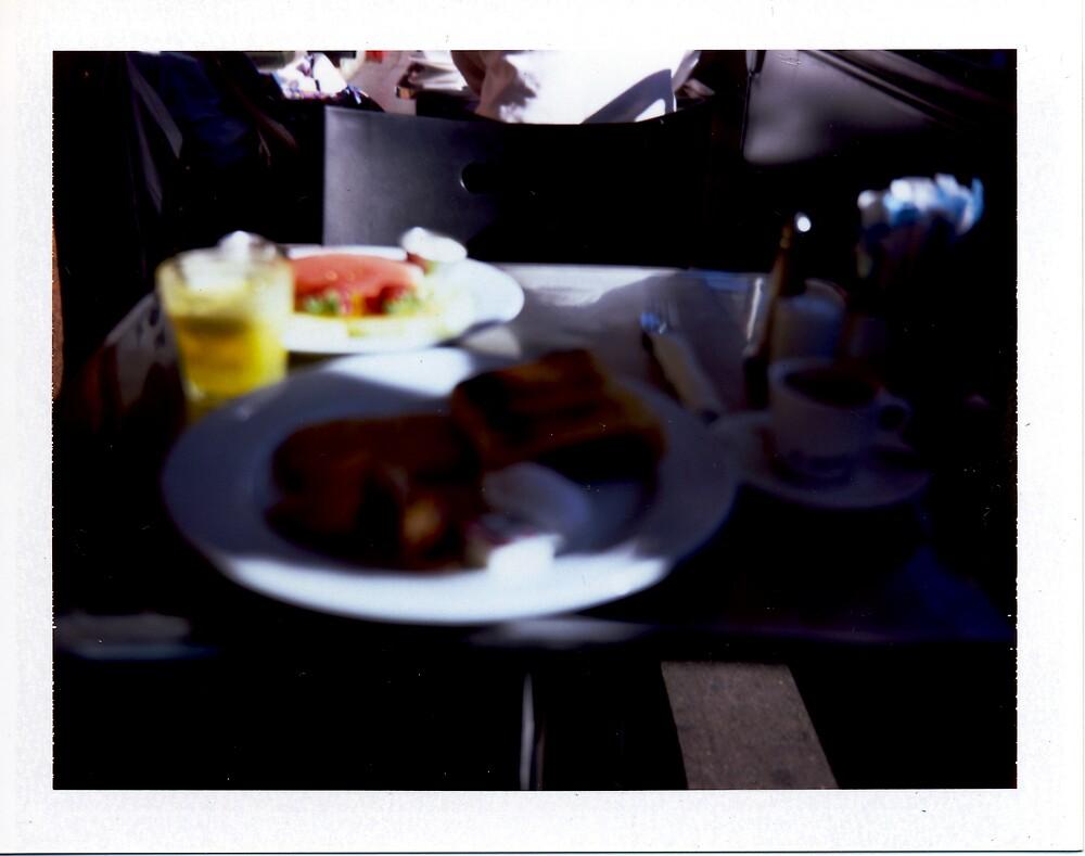 Cafe - Polaroid by tano