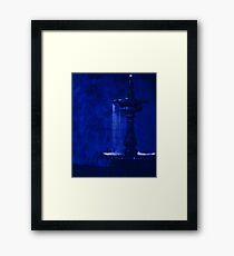 Midnight in the Garden Framed Print