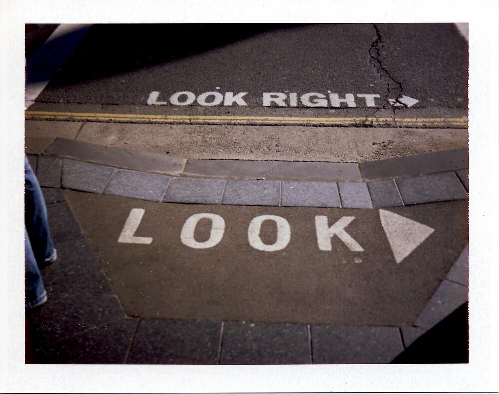 Look - Polaroid by tano