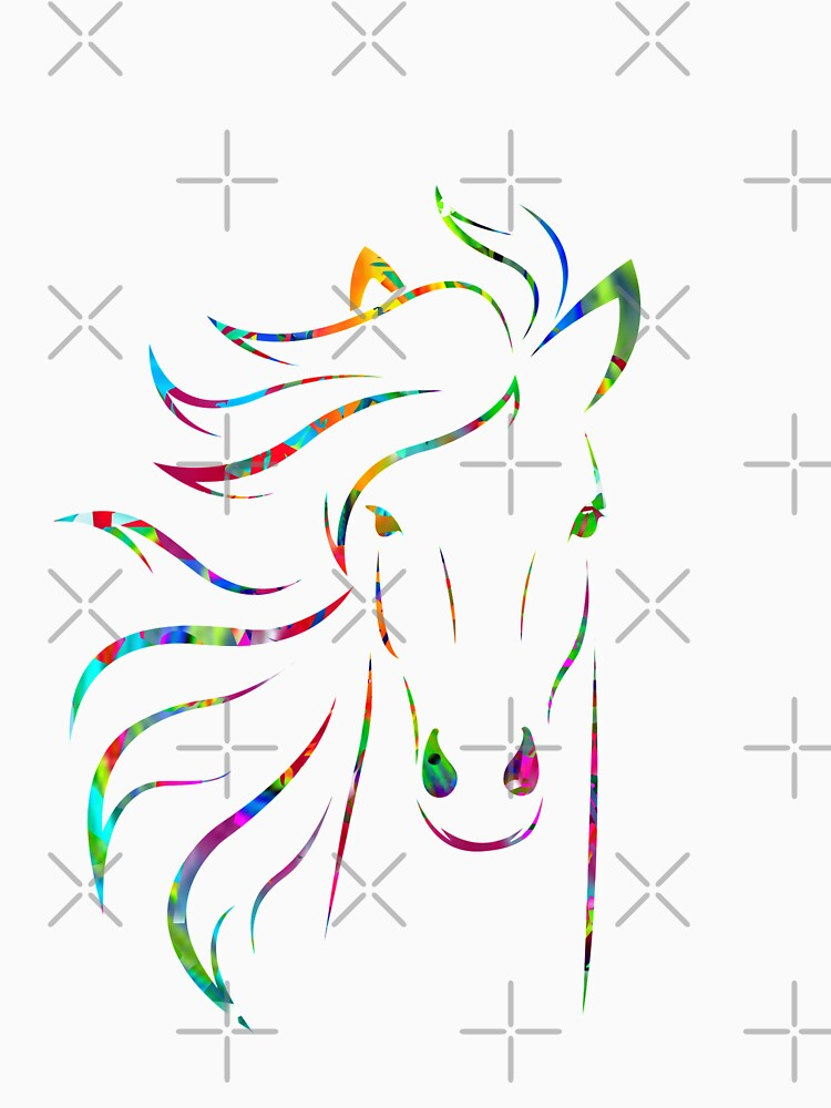 Colorful Paint Horse by ShyneR