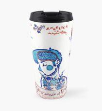 Courage in Florals Travel Mug