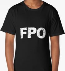 For Position Only Long T-Shirt