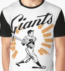 San Francisco Giants Schedule Art from 1958 Graphic T-Shirt