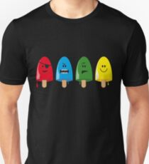 Emotional Range of Popsicles T-Shirt