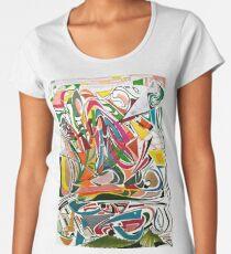 Cesar Manrique Momente 2 Premium Rundhals-Shirt