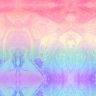 Rainbow Marbled Tie Dye by Kiwi-Fur