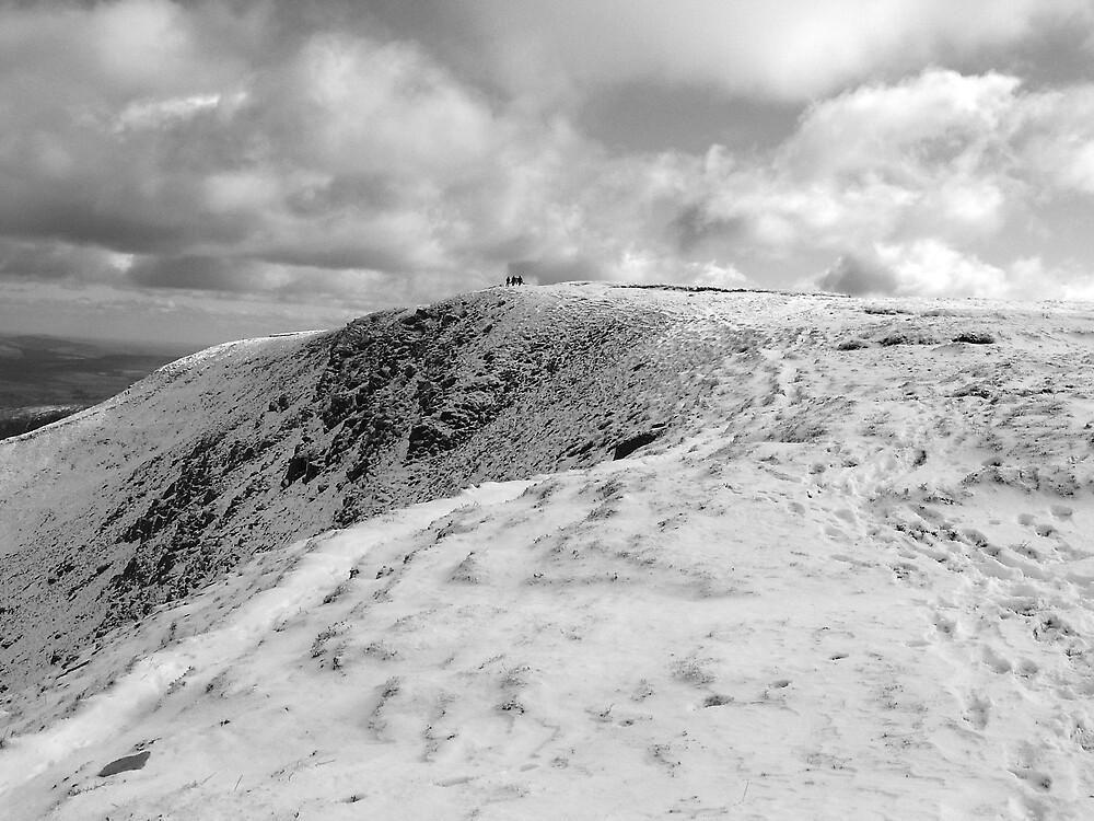 Towards Mangerton summit by John Quinn