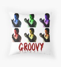 Army of Darkness - Groovy Throw Pillow