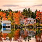 Squam Lake, New Hampshire by LudaNayvelt