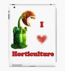 I Love Horticulture Mario iPad Case/Skin