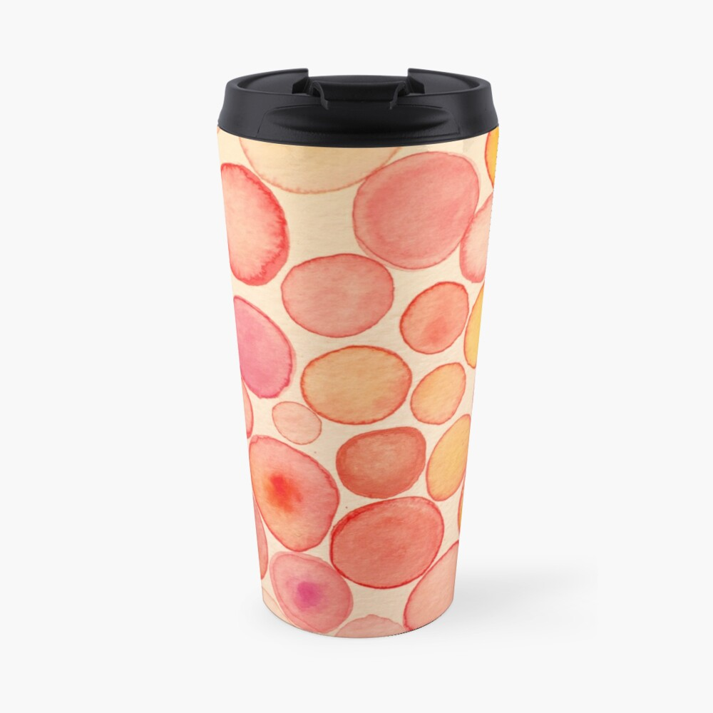 Pinky Bubbles Travel Mug