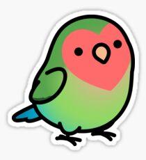 Chubby Lovebird Sticker