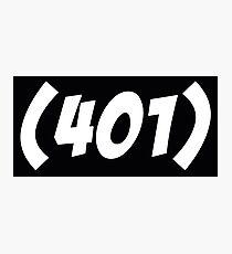 401 Bold Photographic Print