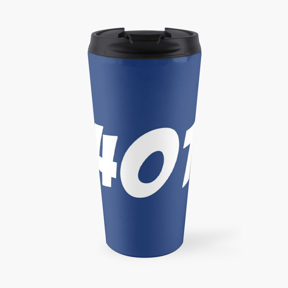 401 Bold Travel Mug