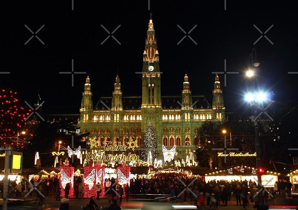 Rathaus, Wien Österreich by Mythos57