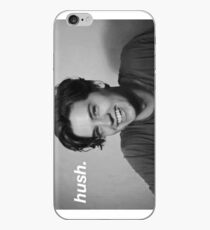 """cole sprouse """"hush."""" iPhone Case"""