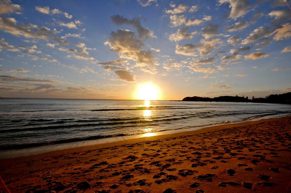 Terrigal sunrise by Shane  Caulfield